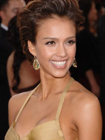 Photo and video archive with naked Jessica Alba